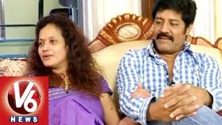 Download Real Star Sri Hari Reveals About Their Love With Disco Shanti    Life Mates    V6 News Video