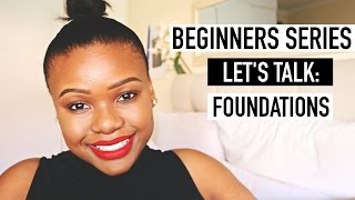 Download Beginners Series: Foundations   South African Beauty Blogger Video