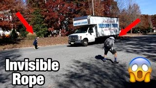 Download INSANE INVISIBLE ROPE PRANK ON STRANGERS! Video