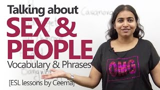 Download Talking about 'SEX & PEOPLE' - Advanced English Lesson ( Intermediate ESL) Video
