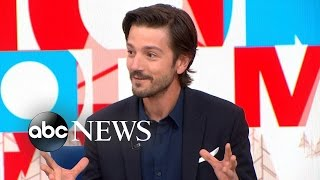 Download Star Wars Rogue One | Diego Luna Interview Video