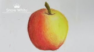 Download Hướng dẫn tô màu sáp dầu đẹp! Cách sáng tạo màu sắc tăng tư duy! Hướng dẫn vẽ quả táo cực dễ cho bé! Video