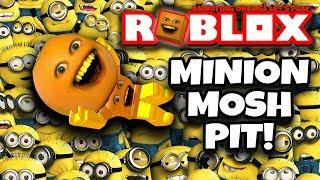 Download ROBLOX: Escape the Minions #2: MINION MOSH PIT! 🍊💨 [Annoying Orange Plays] Video