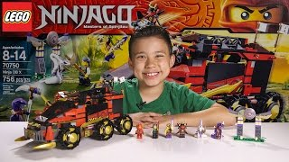Download NINJA DB X - LEGO NINJAGO 2015 Set 70750 - Time-lapse Build, Unboxing & Review! Video