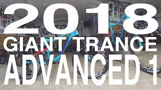 Download 2018 GIANT TRANCE ADVANCED 1 Video
