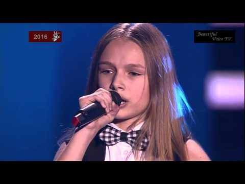 Eva.'Je T'aime'(Lara Fabian).The Voice Kids Russia 2016.