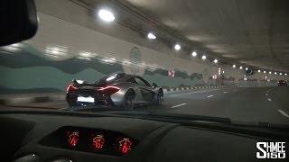 Download Onboard Lamborghini LP570 STS with McLaren P1 around Dubai (including Flames!) Video