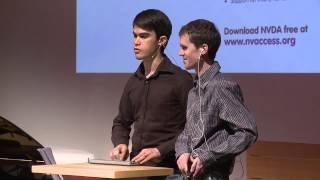Download ONExSENSE: Michael Curran & James Teh at TEDxBrisbane Video