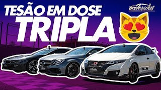 Download RRRODÃO DE C63 AMG + ÚNICO CIVIC TYPE-R DO BRASIL + BMW i8 HÍBRIDO! VR COM RUBINHO #120 | ACELERADOS Video