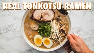 Download How To Make Real Tonkotsu Ramen Video