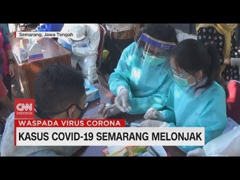Kasus Covid-19 Semarang Melonjak