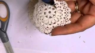 Download Shabby Chic Doily Flower Tutorial - jennings644 Video