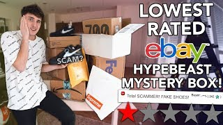 Download I Bought The LOWEST Rated EBAY Hypebeast Mystery Boxes! Video