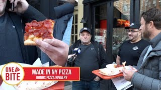 Download Barstool Pizza Review - Made In New York Pizza (Bonus Pizza Lawsuit) Video