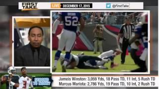 Download ESPN First Take NFL Rookies Season Jameis Winston vs Marcus Mariota Video