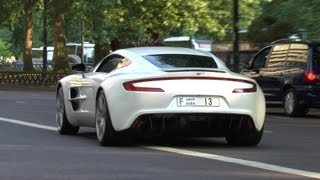 Download ARAB Aston Martin One-77 (Q Series) in London - Startup | Revs | Accelerations | Amazing Sound!! Video