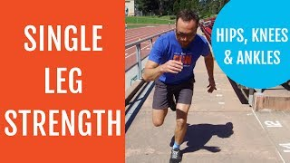 Download 3 Best Single Leg Hip Knee and Ankle Exercises for Runners Video