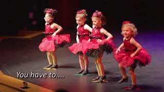 Download Little girl CUTS LOOSE and STEALS the show! Video