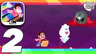 Download STEVEN UNIVERSE Unleash The Light Gameplay Walkthrough Part 2 - Alien Moon (Apple Arcade) Video