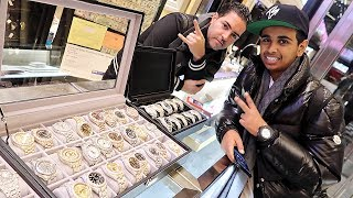 Download MOST EXPENSIVE WATCH SHOPPING !!! Video