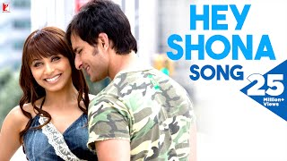 Download Hey Shona - Full Song | Ta Ra Rum Pum | Saif Ali Khan | Rani Mukerji | Shaan | Sunidhi Chauhan Video
