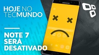 Download Note 7 será desativado - Hoje no TecMundo Video