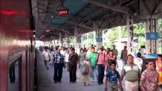 Download Sealdah Departure and Ganga Crossing at Dakshineshwar: Sealdah Rajdhani Express Video