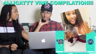 Download Couple Reacts : ULTIMATE AlliCattt Vine Compilation Reaction!!! Video