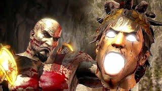 Download God of War 3 Kratos Destroy Hera - Helios and Hephaestus Ruthless Kills Video