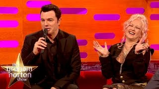 Download Seth MacFarlane Sings Cyndi Lauper's Greatest Hits As Stewie and Peter Griffin Video