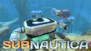 Download Subnautica Gameplay #5 - Building and Constructing Our First Underwater Base! Video