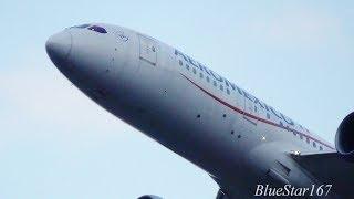 Download Aeromexico Boeing 787-8 (N783AM) takeoff from NRT/RJAA (Tokyo - Narita) RWY 34L Video