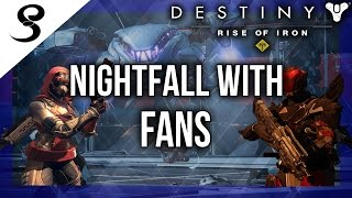 Download Destiny - NIGHTFALL WITH FANS x3! (XB1) | NIGHTFALL x3 LOOT! Video