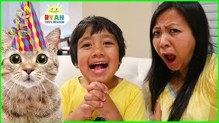 Download Ryan wants More Cats for his Birthday????? Video