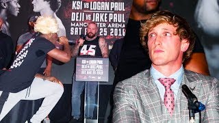 Download KSI VS LOGAN PAUL PRESS CONFERENCE HIGHLIGHTS Video