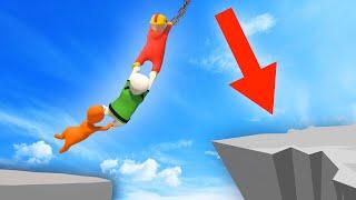 Download EXTREME HUMAN CHAIN ISLAND JUMPS! (Human Fall Flat) Video