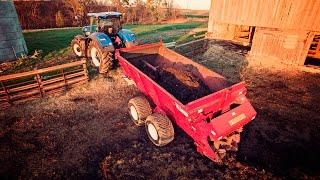 Download Cleaning the Barnyard - Meyer 8720 Industrial Super Spreader & New Holland T7.315 Video