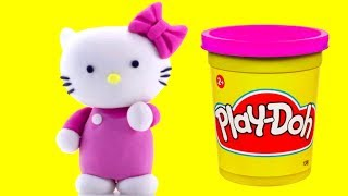 Download Hello Kitty Play doh STOP MOTION animation video Fun for kids Video