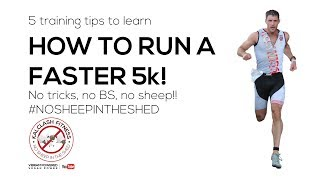 Download 5 tips for running a faster 5k. How to run a sub 20 minute 5k - learn how to to run 5k faster Video