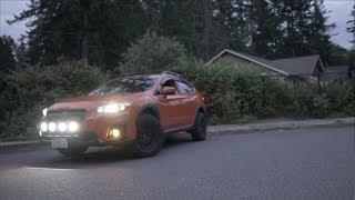 Download AUXBEAM OFF ROAD LIGHTS   SSD RALLY LIGHT BAR   2018 SUBARU CROSSTREK Video
