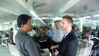 Download Exploring a Garment Factory in Dhaka, Bangladesh Video
