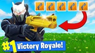 Download The *GOLDEN* HAND CANNON Challenge In Fortnite Battle Royale! Video