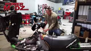 Download Snowmobile start ups! Getting ready for the Toronto Snowmobile Show! Video