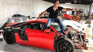 Download CRASHING ROYALTY EXOTIC RENTAL CARS IN LAS VEGAS! *EPIC FAILS* Video