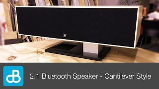 Download 2.1 Bluetooth Speaker Build - CANTILEVER STYLE - by SoundBlab Video
