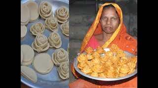 Download Delicious and sweet golap pitha recipe | Village food Video