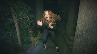 Download Ellen's Employee Mackenzie Kicks Her Way Through a Haunted House Video