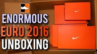 Download Enormous EURO 2016 Nike Football Boots Unboxing Video