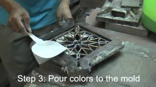 Download How to make cement tile Video