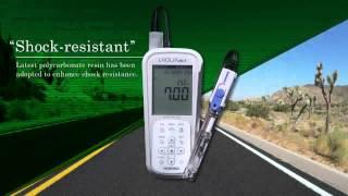 Download HORIBA LAQUAact pH/conductivity/DO meter Video